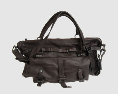 marsell large leather bag