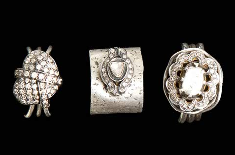 trio of rings